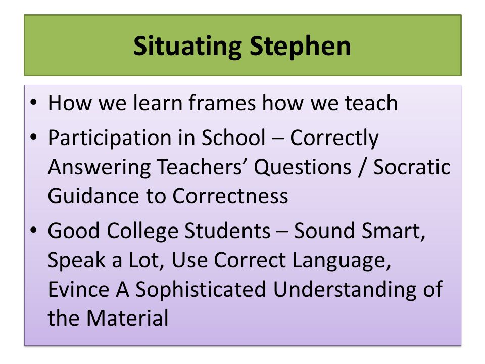 Further Resources http://www.stephenbrookfield.com/ The Skillful Teacher: On Technique, Trust & Responsiveness in the Classroom (2015, 3rd ed.) The Discussion Book: 50 Great Ways to Get People Talking (2016) - with Stephen Preskill http://www.stephenbrookfield.com/ The Skillful Teacher: On Technique, Trust & Responsiveness in the Classroom (2015, 3rd ed.) The Discussion Book: 50 Great Ways to Get People Talking (2016) - with Stephen Preskill