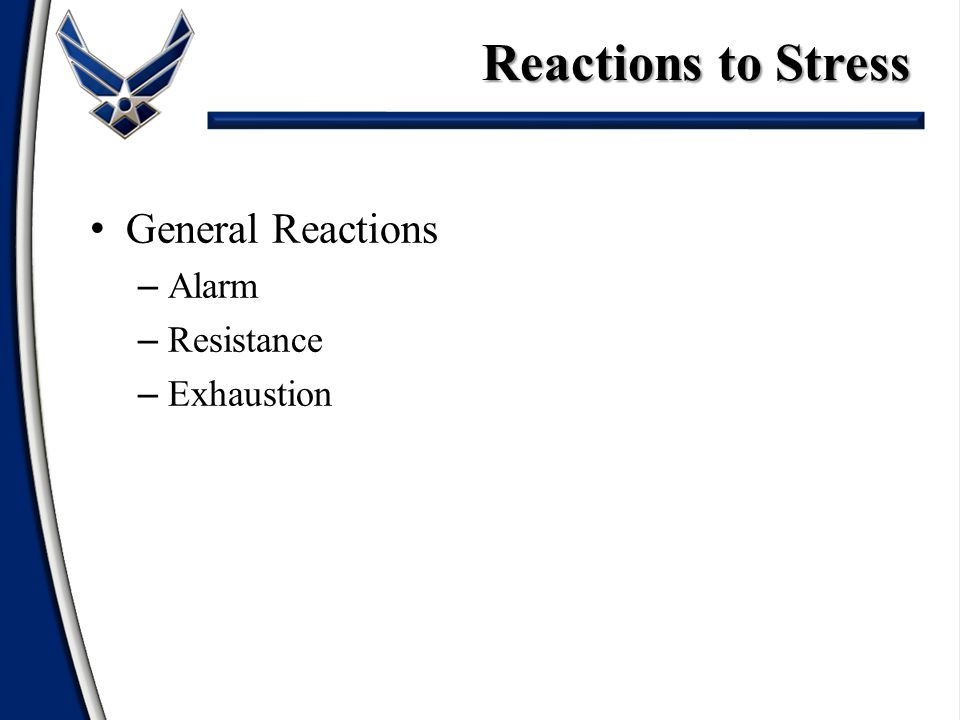 Definition/Effects of Stress Elements of Stress Reactions to Stress Defense Mechanisms Coping Strategies Time Management Developing Resiliency ExerciseSummary