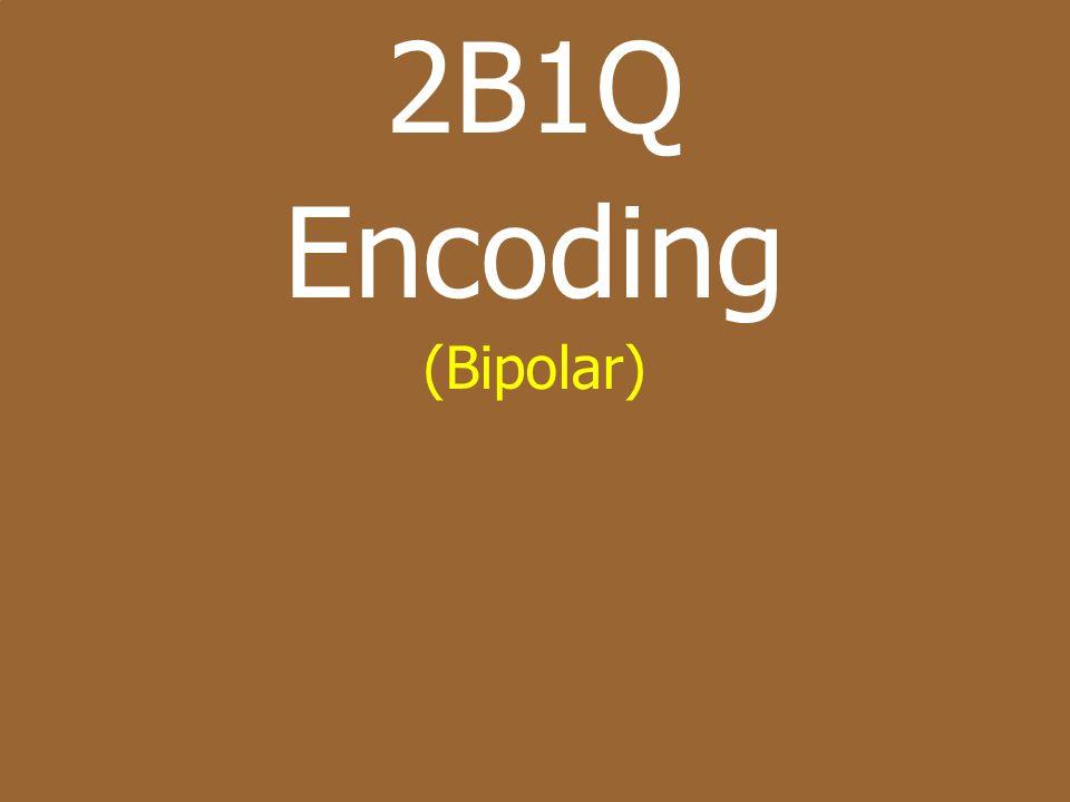64 Bipolar – HDB3 zHDB3 – High Density Bipolar 3 ySimilar To B8ZS – Except Done In Sets Of 4 yUse Chart Below [Will Be Provided On Exam/ Quiz]