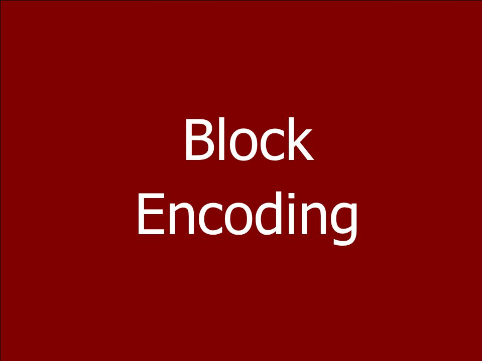 68 MLT-3 Encoding zMLT-3 Encoding Similar to NRZ-I zUses 3 Levels Of Signal +1, 0, -1 zThe Signal Transitions From One Level To The Next At The Beginn