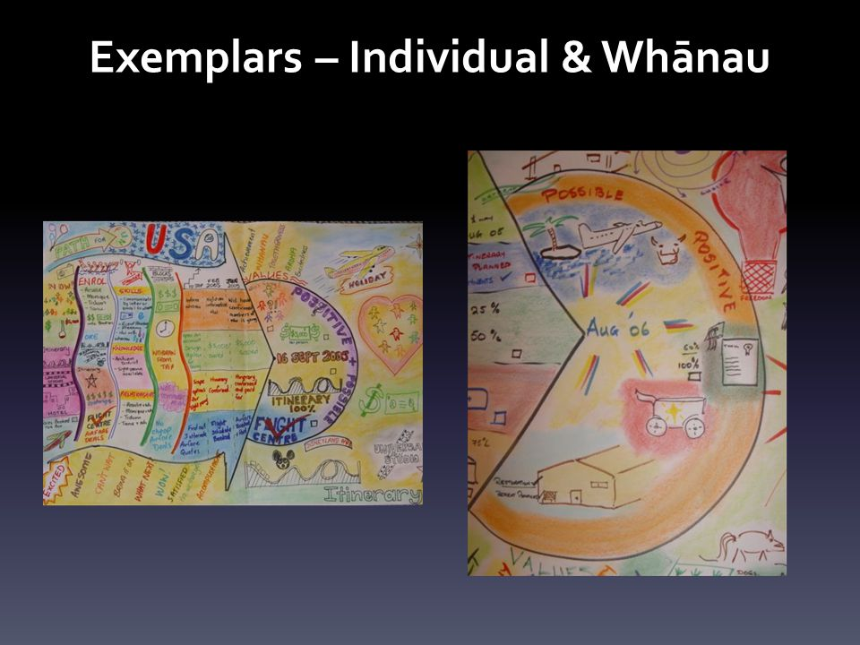 Exemplars – Individual & Whānau