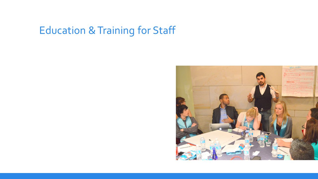 Education & Training for Staff