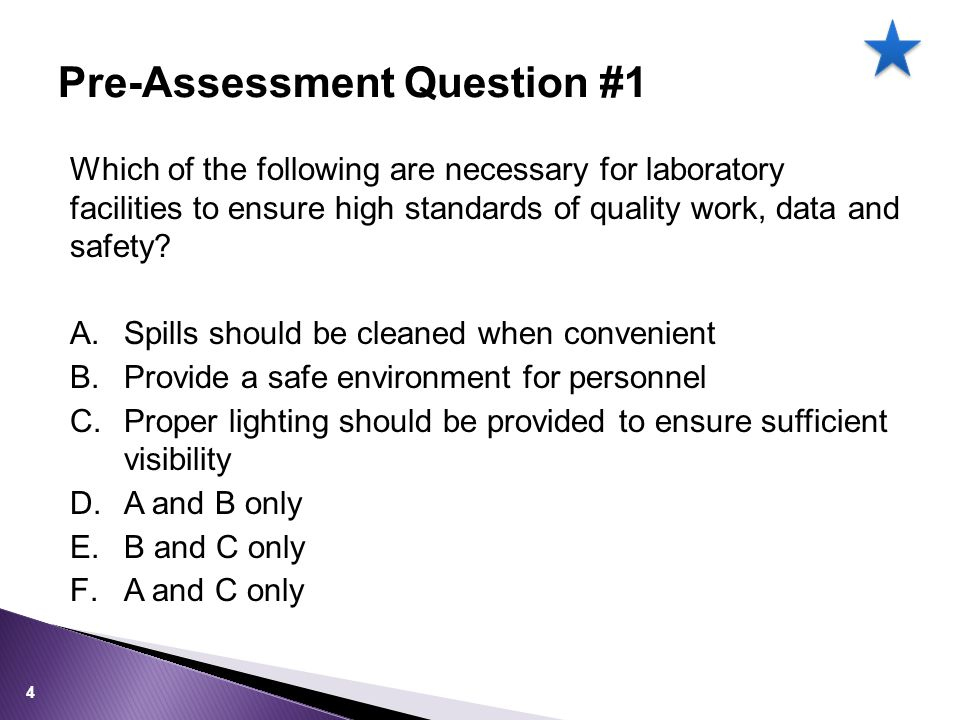 Facilities Unsuitable facilities affect Compliance conditions set in the test Personnel safety and competency Sample integrity Equipment performance 15