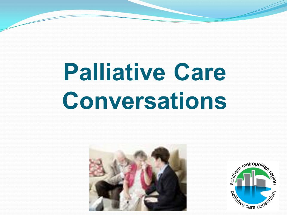Palliative Care Conversations