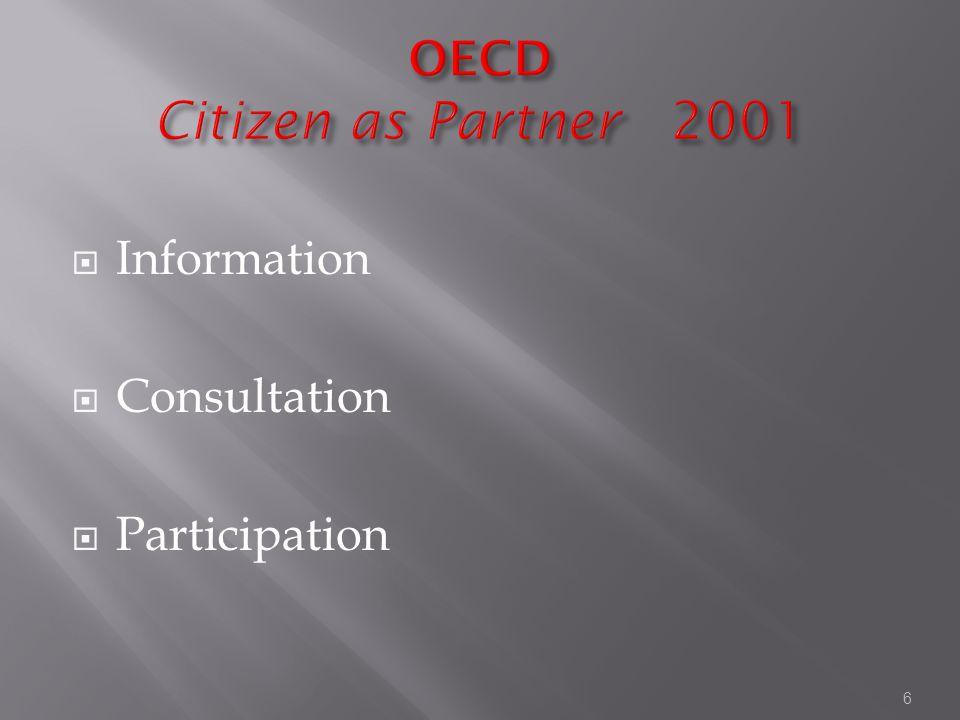 6  Information  Consultation  Participation