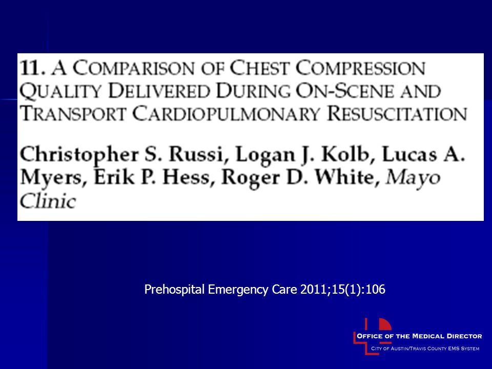 Prehospital Emergency Care 2011;15(1):106