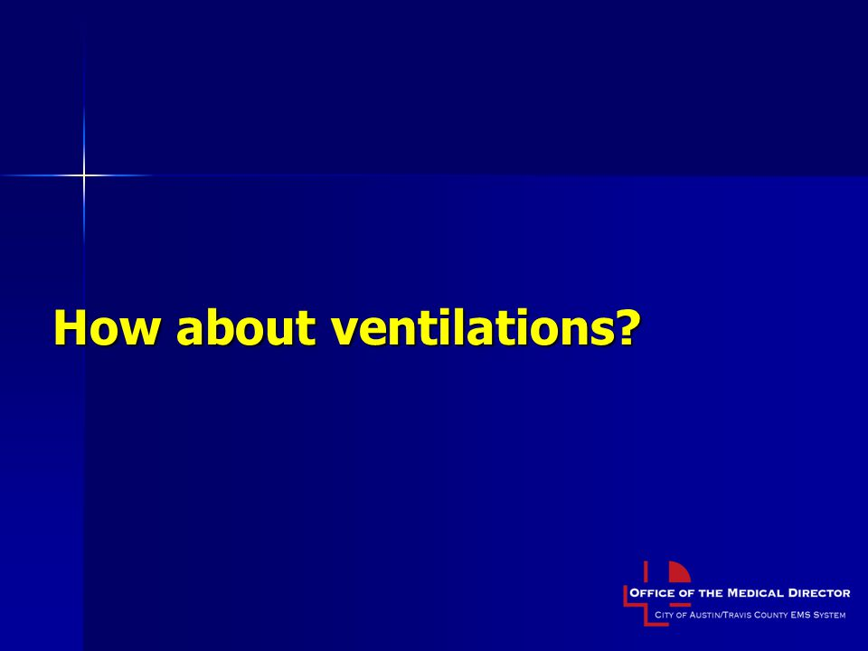 How about ventilations?