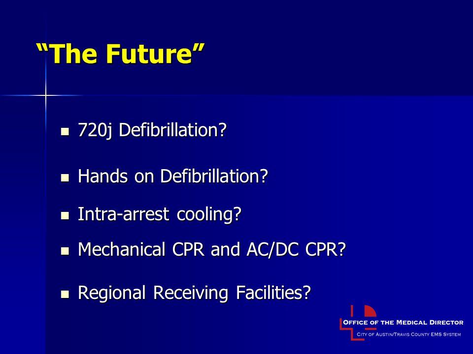 The Future 720j Defibrillation.720j Defibrillation.