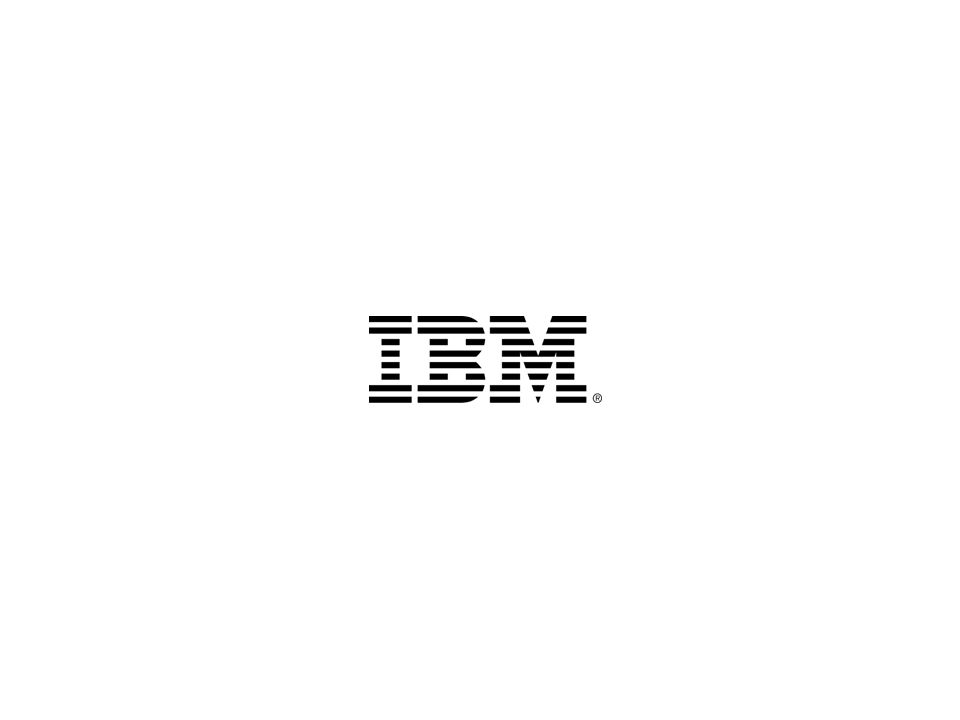 17 © 2013 IBM Corporation