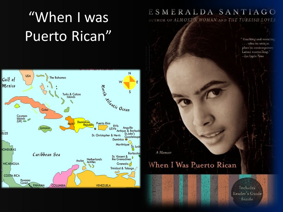 """When I was Puerto Rican"""