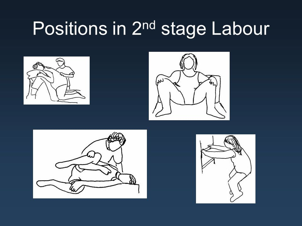 Positions in 2 nd stage Labour