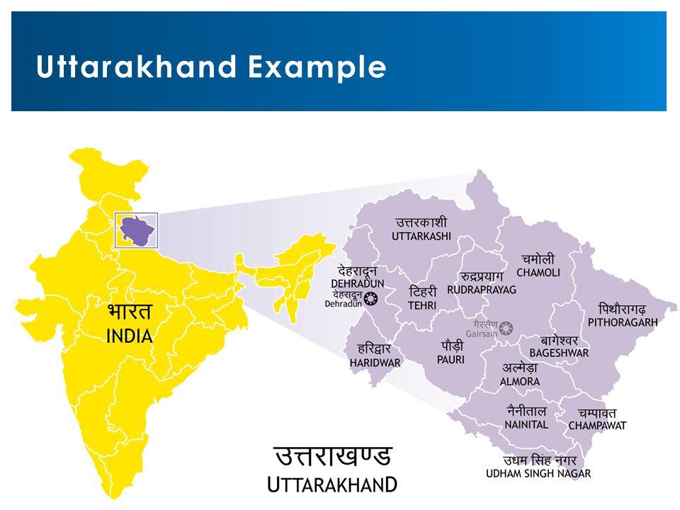 Uttarakhand Example
