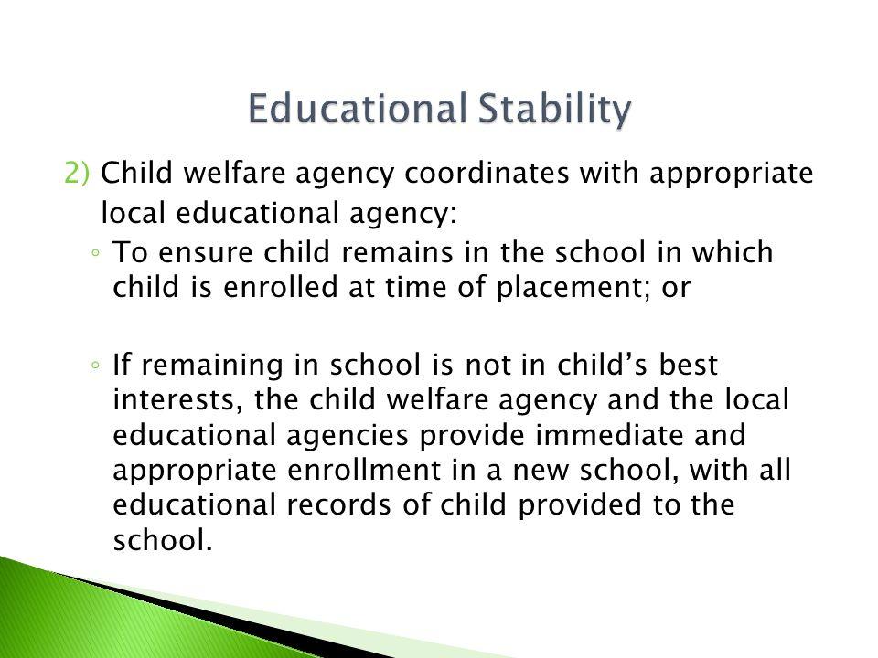  Child shall be immediately & appropriately enrolled.
