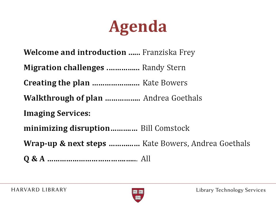 Agenda Welcome and introduction …...Franziska Frey Migration challenges.…………...