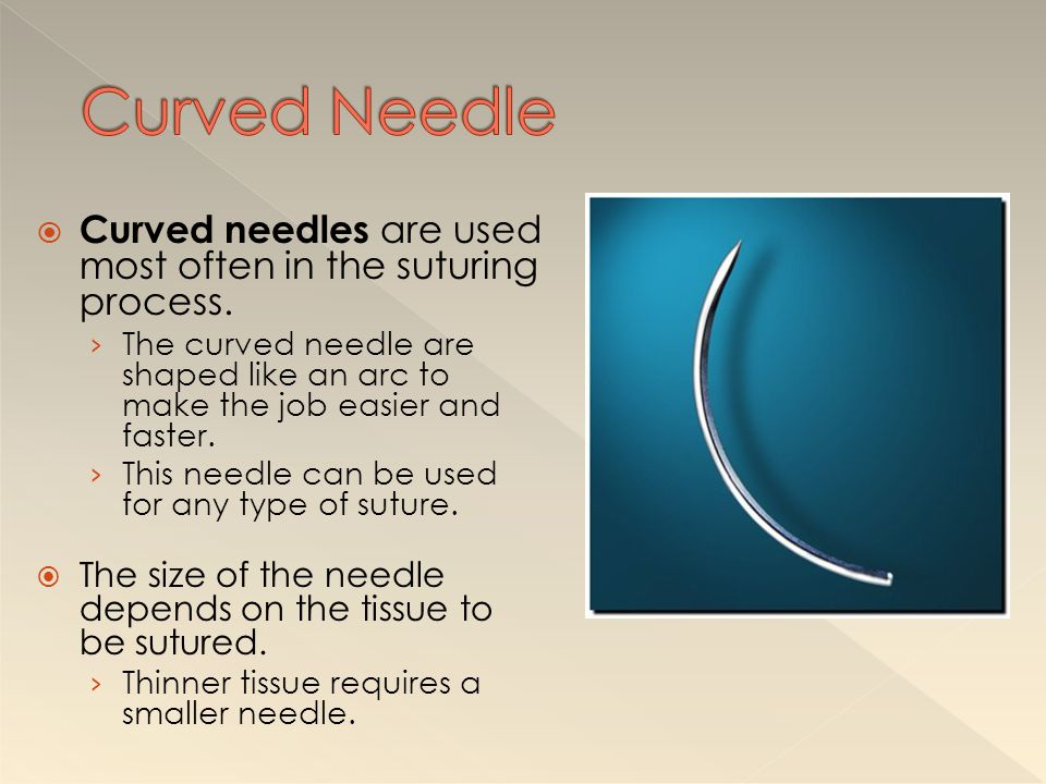  A purse-string suture is a continuous stitch paralleling the edges of a circular wound.