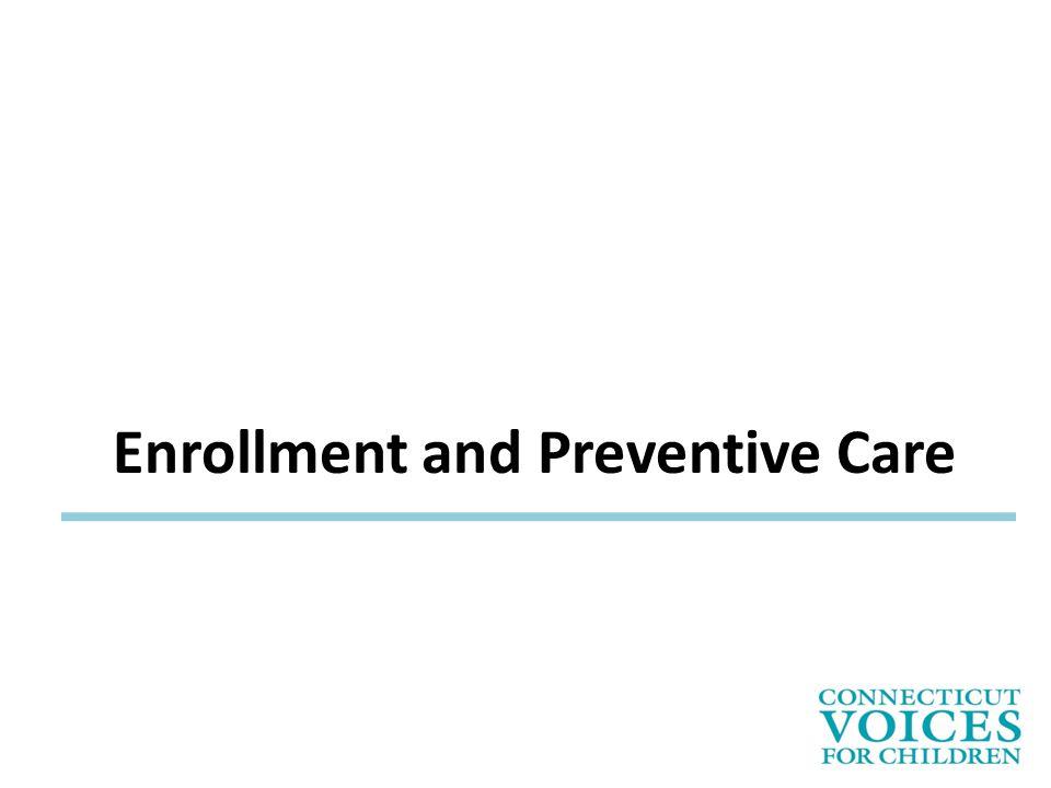 Enrollment and Preventive Care