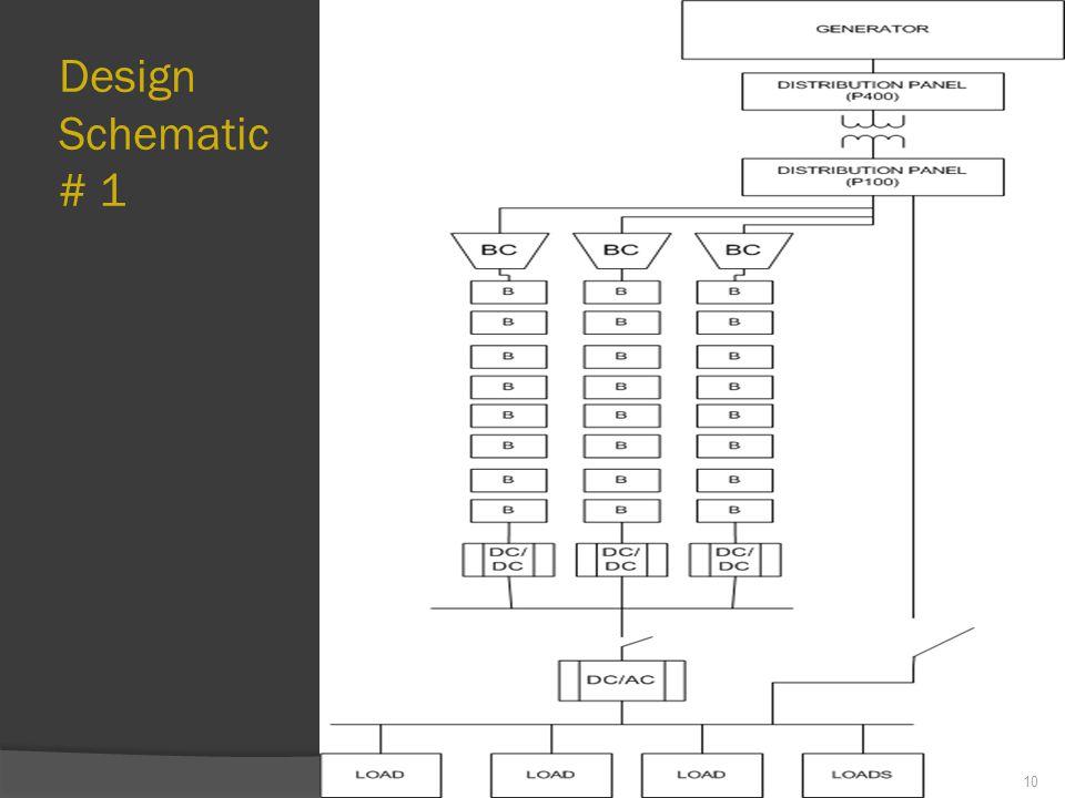Design Schematic # 1 10