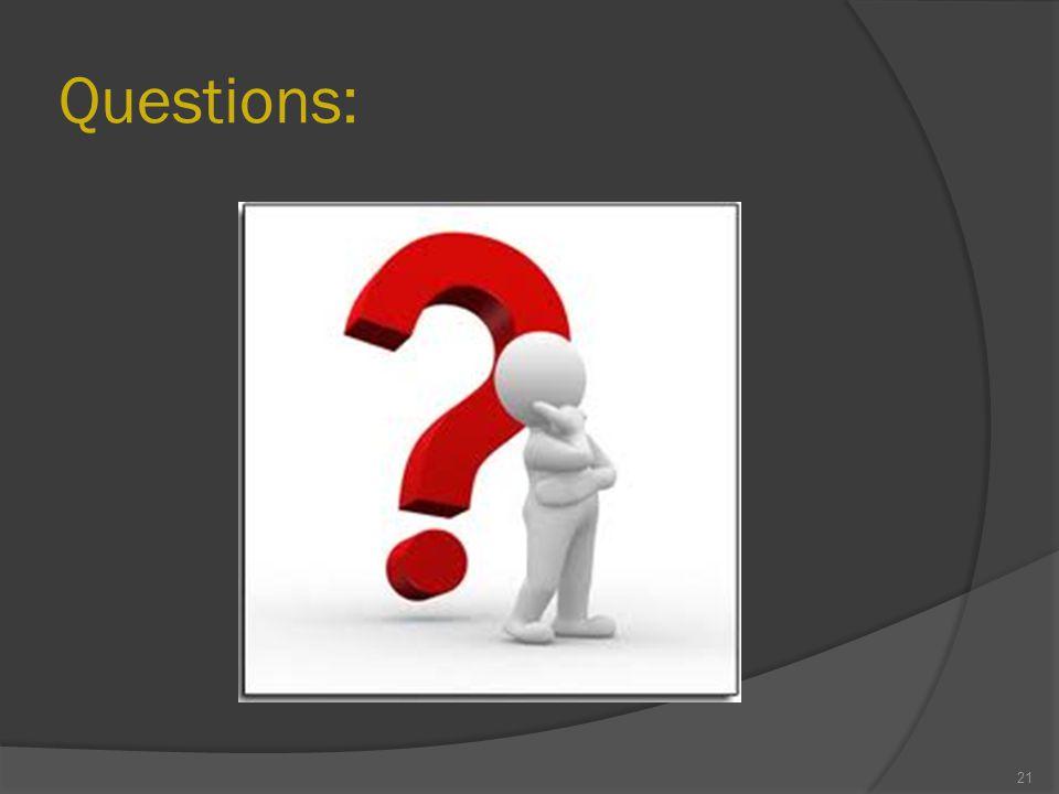 Questions: 21