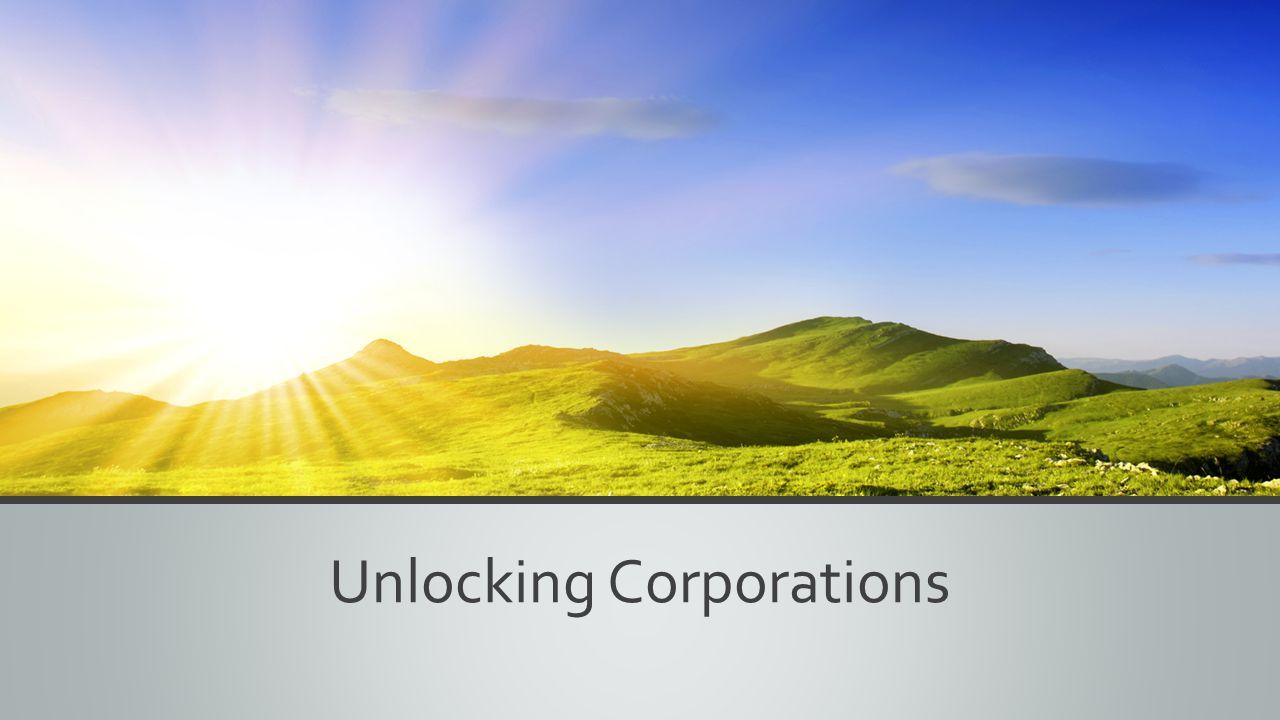 Unlocking Corporations