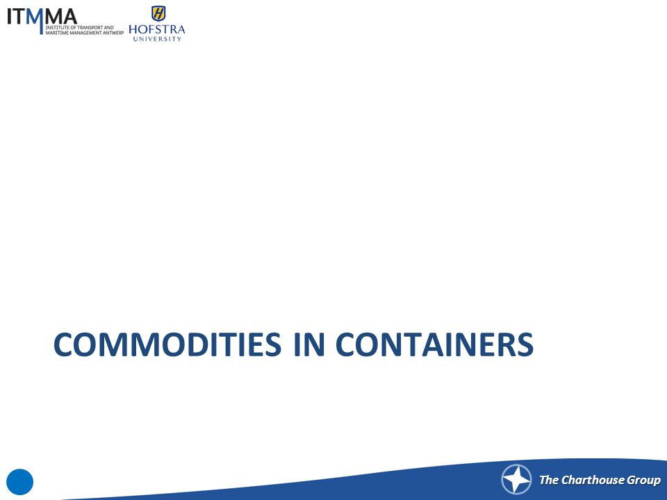 The Charthouse Group COMMODITIES IN CONTAINERS