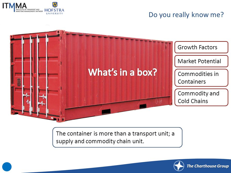 The Charthouse Group GROWTH FACTORS FOR CONTAINERIZATION