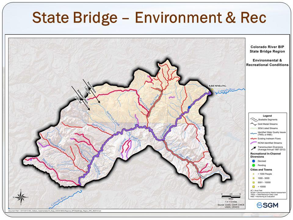 State Bridge – Environment & Rec