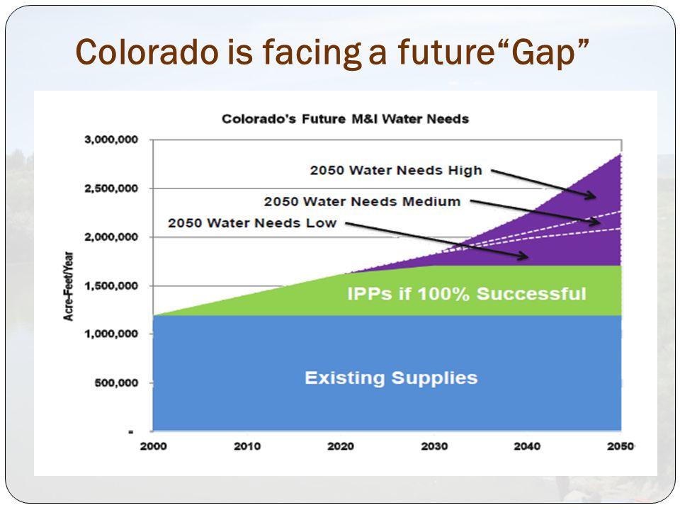 Colorado is facing a future Gap