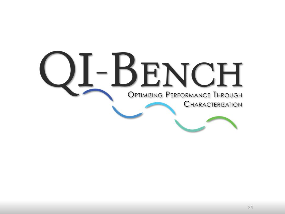 Value proposition of QI-Bench Efficiently collect and exploit evidence establishing standards for optimized quantitative imaging: – Users want confidence in the read-outs – Pharma wants to use them as endpoints – Device/SW companies want to market products that produce them without huge costs – Public wants to trust the decisions that they contribute to By providing a verification framework to develop precompetitive specifications and support test harnesses to curate and utilize reference data Doing so as an accessible and open resource facilitates collaboration among diverse stakeholders 25