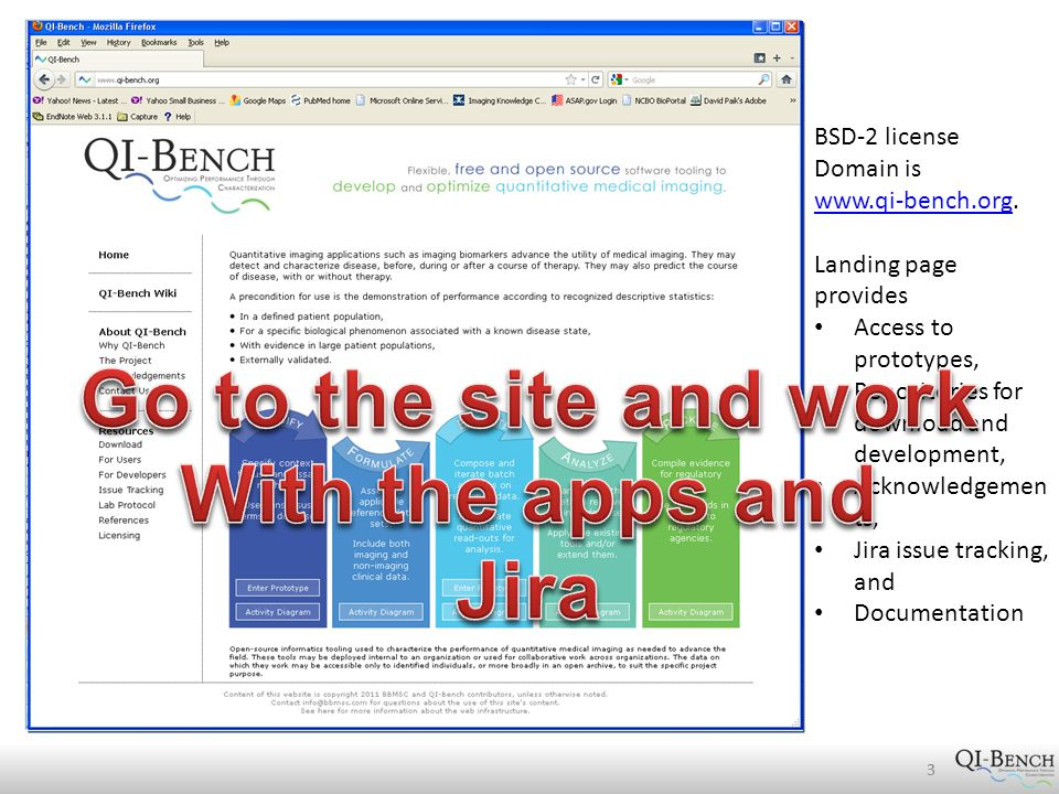 3 BSD-2 license Domain is www.qi-bench.orgwww.qi-bench.org.
