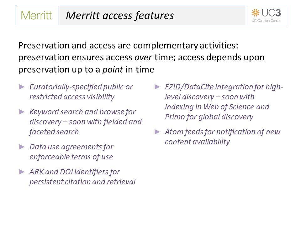 Why use Merritt.