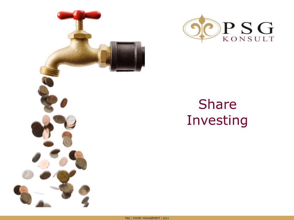 Share Investing PSG | MONEY MANAGEMENT | 2011
