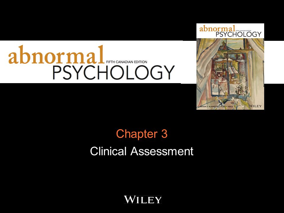 Chapter 3 Clinical Assessment