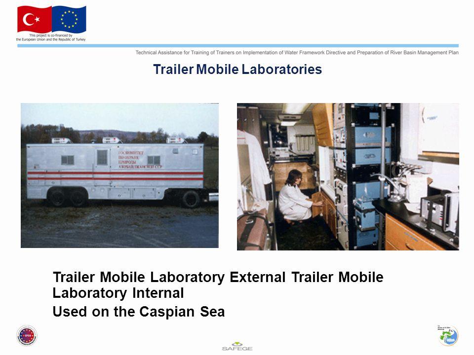 Trailer Mobile Laboratories Trailer Mobile Laboratory External Trailer Mobile Laboratory Internal Used on the Caspian Sea