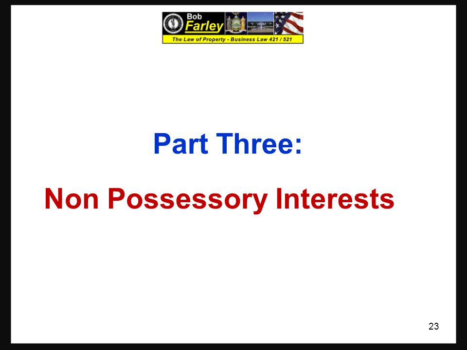 Adverse Possession What does it mean? - Restrictions This is a way for land to be acquired without formal conveyance It is not with out risk or restri