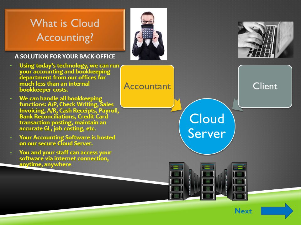 What is Cloud Accounting.