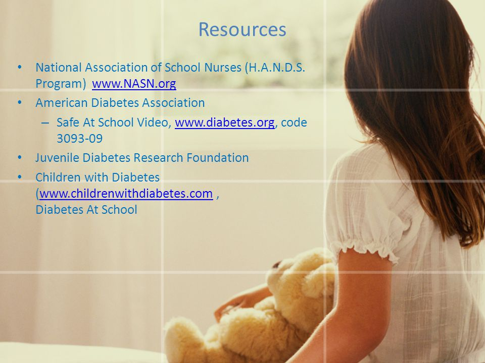 Resources National Association of School Nurses (H.A.N.D.S.