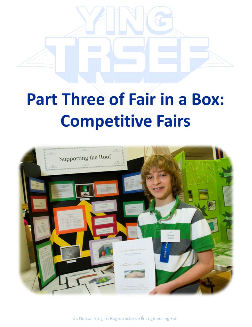 Part Three of Fair in a Box: Competitive Fairs Dr.
