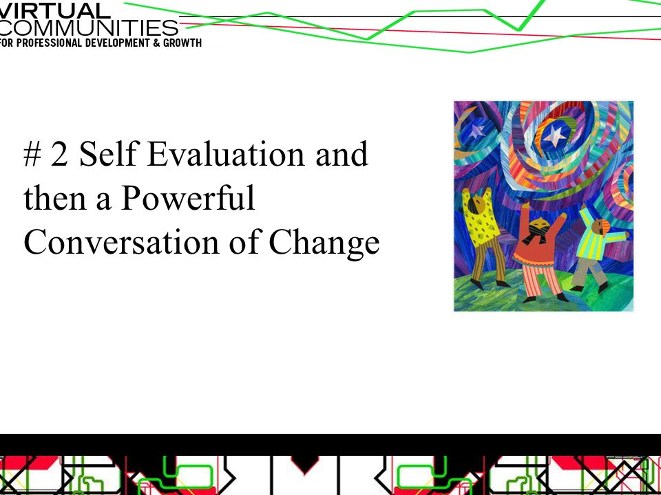 # 2 Self Evaluation and then a Powerful Conversation of Change