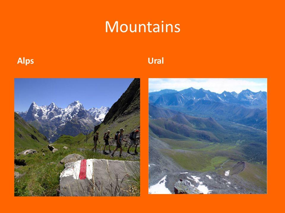 Mountains AlpsUral