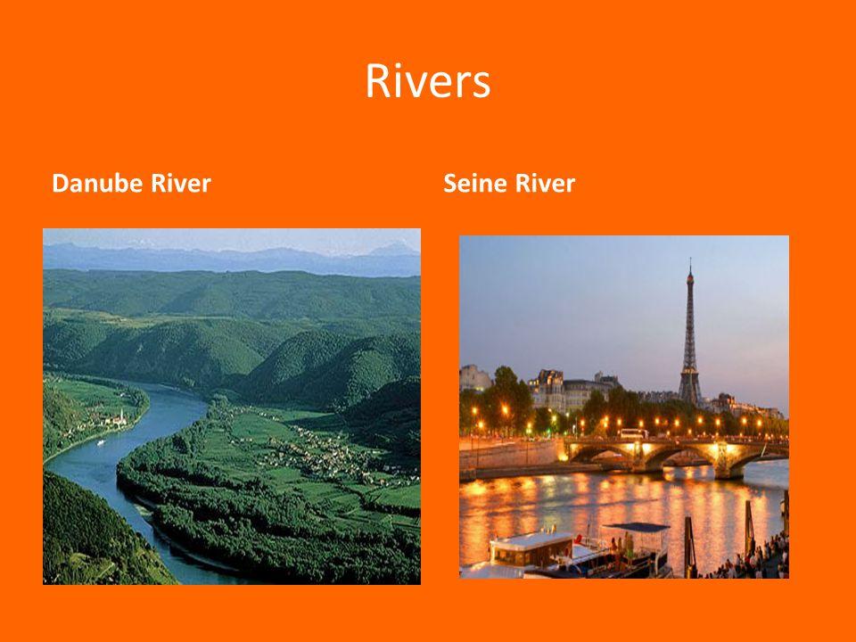 Rivers Danube RiverSeine River