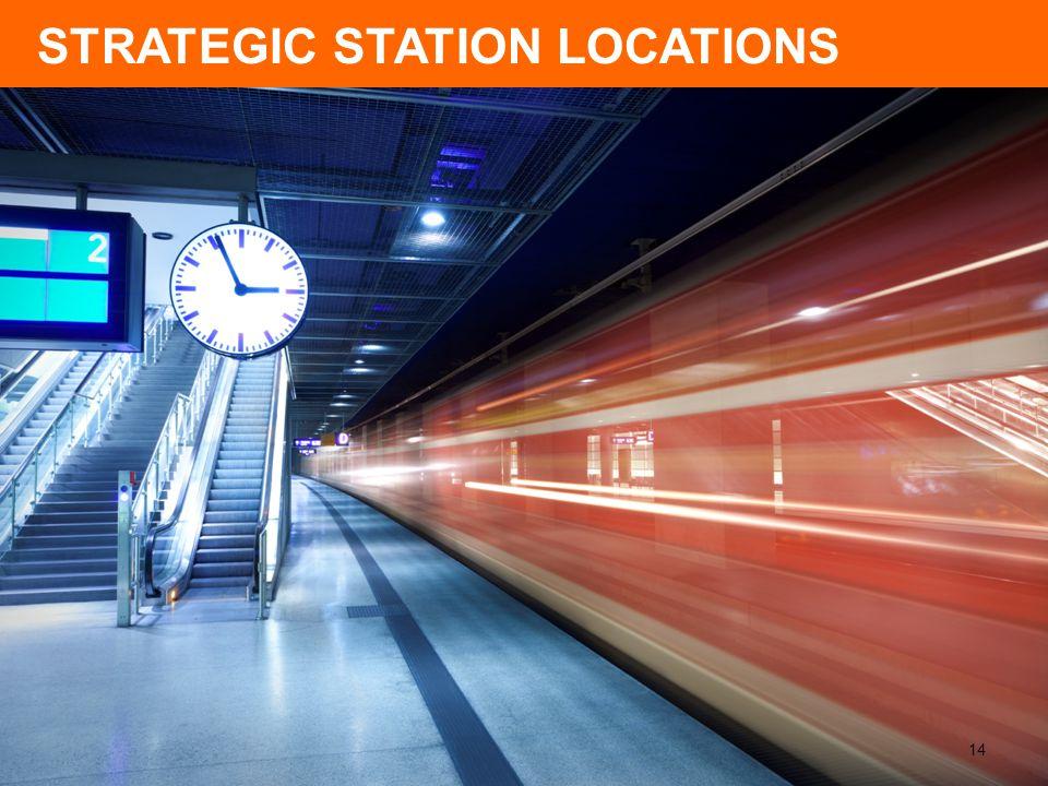 STRATEGIC STATION LOCATIONS 14