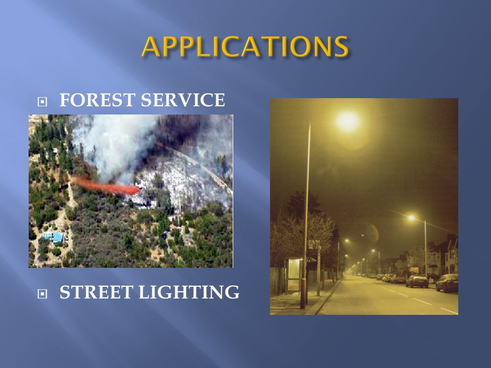  FOREST SERVICE  STREET LIGHTING