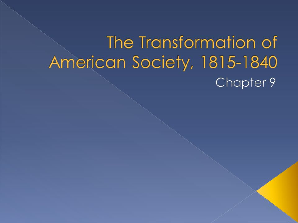 Main Idea Nationalism contributed to the growth of American culture and influenced domestic and foreign policies.