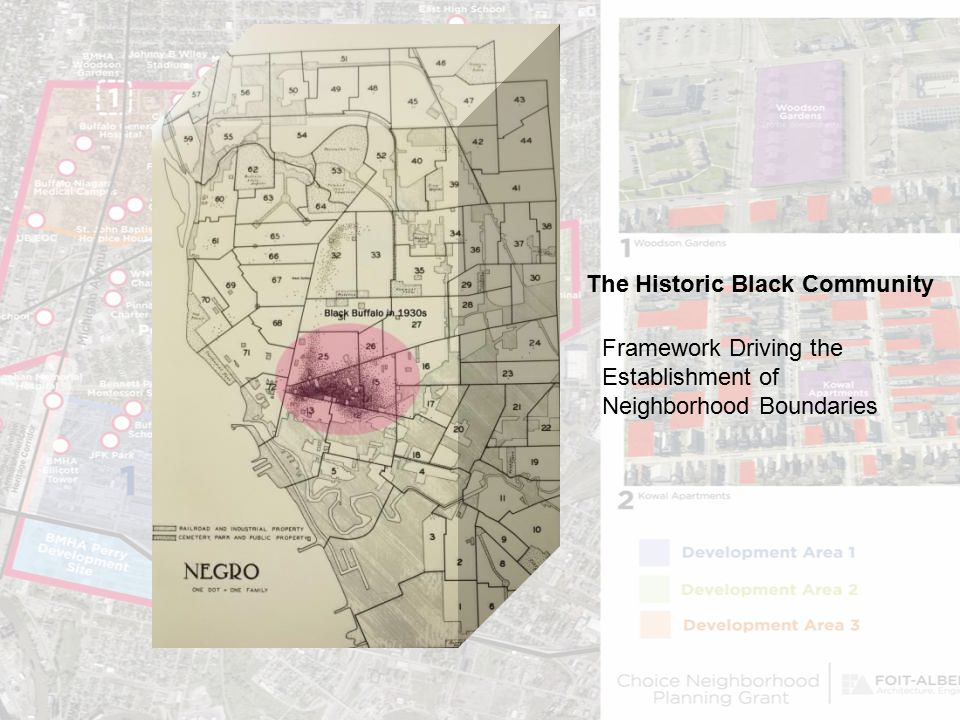 The Historic Black Community Framework Driving the Establishment of Neighborhood Boundaries