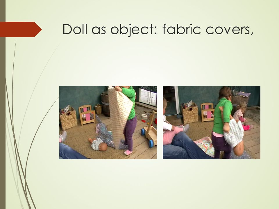 Doll as object: fabric covers,