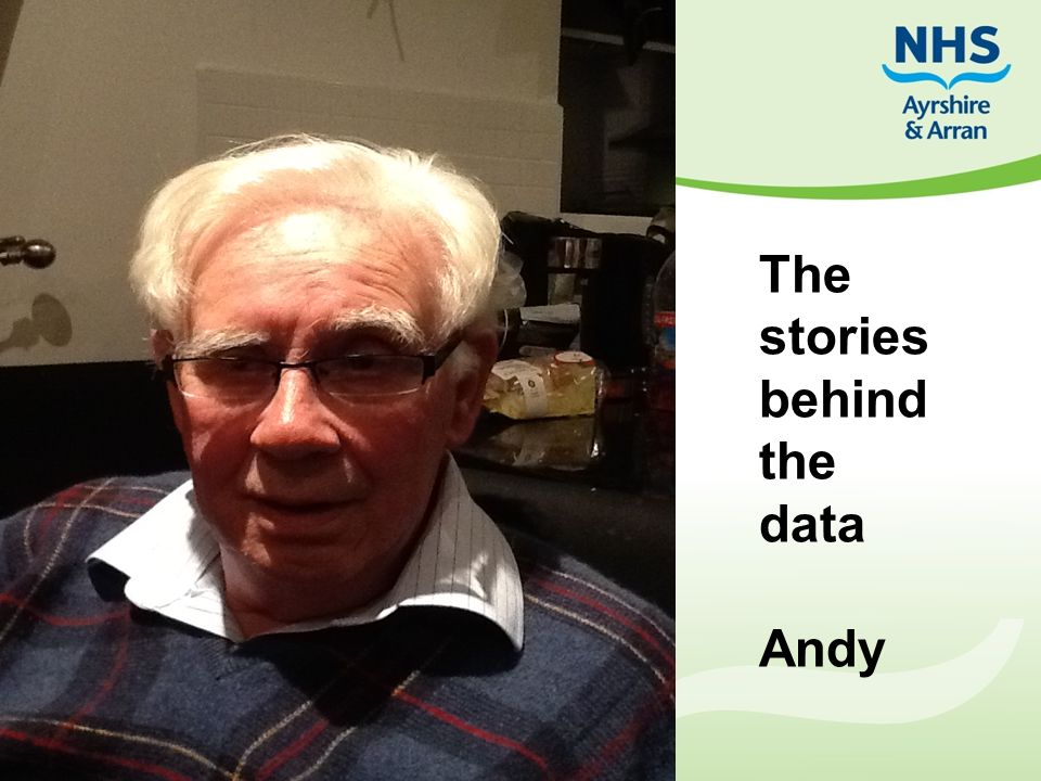 The stories behind the data Andy