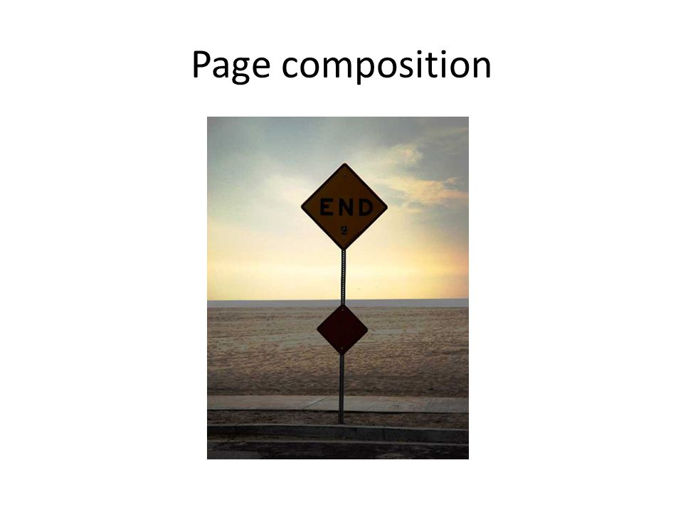 Page composition