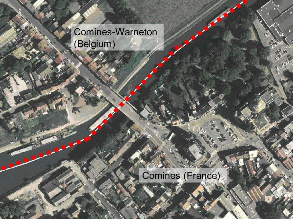 Comines (France) Comines-Warneton (Belgium)