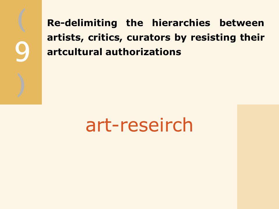 (9)(9) art-reseirch