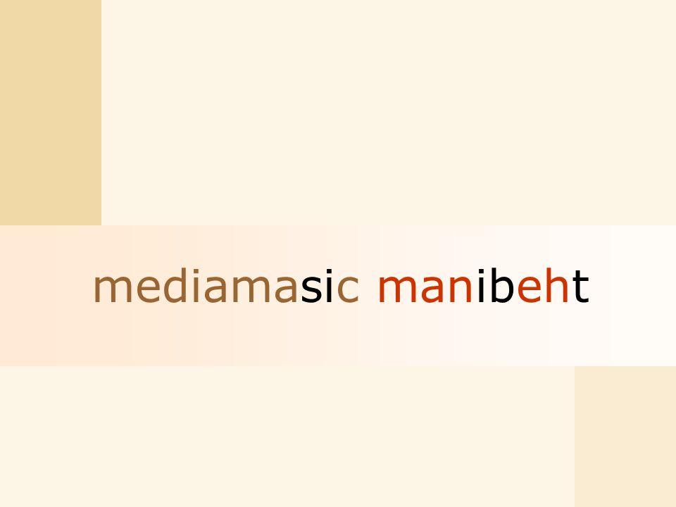 mediamasic manibeht